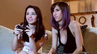 Eva Sedona and April O'Neil Lesbian Fun