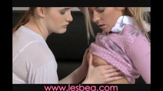 Lesbea Alluring redhead and tight blonde