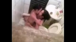 Spying my lesbian sister in bathroom with girlfriend. Great !